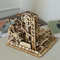 ROKR Laser-Cut 3D Holzpuzzle Trackball-Modellbausätze Spielzeug für Erwachsene
