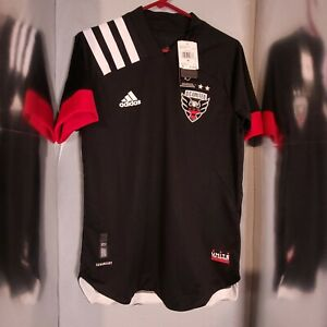 Adidas MLS DC United 20/21 Authentic Home Jersey EH8688 Mens Size S $130
