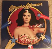 """WONDER WOMAN 75th ANNIVERSARY PICTURE DISC VINYL 7"""" SINGLE, LIMITED EDITION MINT"""