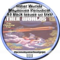 Other Worlds Science Fiction Magazine Science Stories Pdf DVD Pulp Fiction