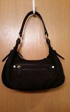 ELLINGTON Black Nylon Hobo Satchel Handbag
