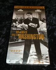 1939 Classic movie Vhs 2000 Tape Mr.Smith Goes To Washington with James Stewart