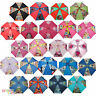 CHILDRENS GIRLS BOYS CHARACTER CURVED HANDLE UMBRELLA