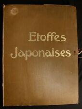 Verneuil Etoffes japonaises 80 planches Librairie Beaux Arts 1910 VG 1st