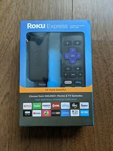 Roku Express 3900R unopened new in box with remote and HDMI cable