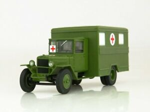 ZIS-44 Ambulance Soviet Truck WWII 1942 Year 1/43 Scale Collectible Model Car