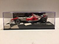 JARNO TRULLI 1:43 PMA Minichamps F1 race car PANASONIC TOYOTA RACING TF105