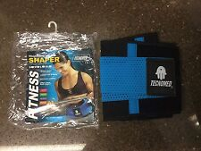 Tecnomed Fitness Weightlifting Belt and Body Shaper Blue Choose Size New