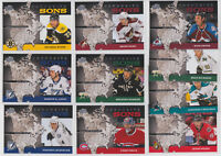 2008-09 Upper Deck Favorite Sons 10 Card Lot Price Spezza Doan Lecavalier