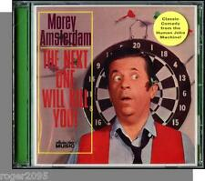 Morey Amsterdam (1963) - The Next One Will Kill You - New Comedy CD!