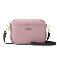Leather Women Sport Shoulder Bag Phone Crossbody  Messenger Purse+1 free wallet