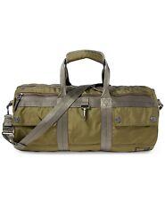 POLO Ralph Lauren Army Green Military Duffel Gym Bomber Barrel Weekender Bag