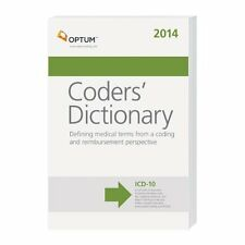 Optum Medical Coders Dictionary 2014 New ICD-10