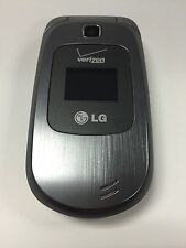 LG VN150S Revere 2 Verizon Silver Flip Cell Phone Camera Bluetooth Speakerphone