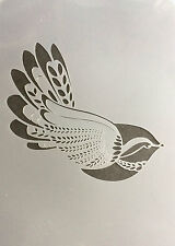 Bird Decor Cute A4 Mylar Reusable Stencil Airbrush Painting Art Craft