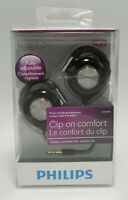 Philips SHS4700 Ear Clip Stereo Headphones Earphones Deep Bass Discontinued