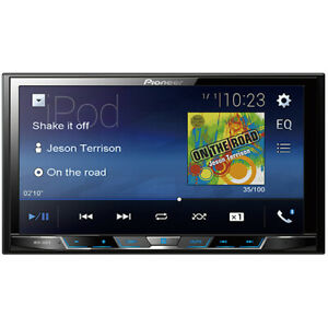 "Pioneer 7"" WVGA Display Digital Multimedia Video Receiver with Built-in Bluetoot"