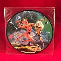 "IRON MAIDEN Run To The Hills 1982 UK 7"" Vinyl PICTURE DISC EXCELLENT CONDITION"