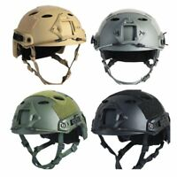 Tactical Helmet Men Military Combat Head CS Fast Airsoft Paintball Protection US
