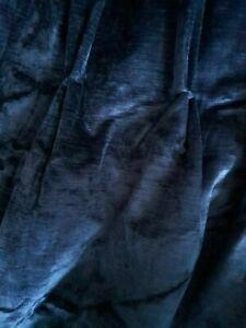 Laura Ashley Villandry Midnight Fabric, PER 1 METRE