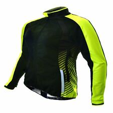Cycling Jacket Funkier Tacona Wj-1324 Ladies Windstopper Black/Yellow X-Large