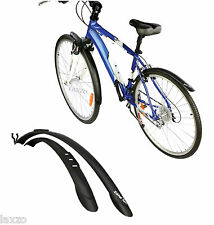 Zefal Trail City Mudguard Set Front And Rear Mudguard For Hybrid & City Bikes