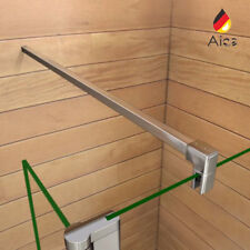 Aica 90/140cm Barra Stabilizzatrice Per Box Doccia Fissato Alluminio Tagliabile