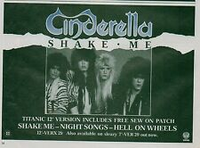 More details for cinderella shake me uk magazine advert / mini poster 8x6 inches