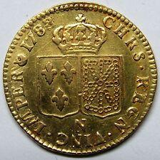 - Très belle monnaie - Louis XVI - Louis d'or - 1788 N - RARE