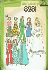 Barbie Doll Sewing Pattern Vintage - Wedding & Bridal & Assorted - New Uncut