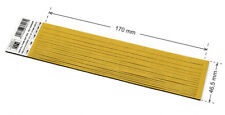 1,8 mm THICK PRE-CUT.  OPEN CELL FOAM SELF ADHESIVE - ONE PIECE: 1,8x46.5x170 mm