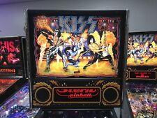 Kiss Pinball Machine Stern 2015 Leds Great Condition