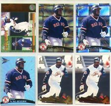Mo Vaughn Red Sox 8X 1999 - 2001 Pacific Inventory Non #d Parallel Lot 1/1