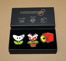 2014 Nintendo Mario Kart 8 Rare Club Nintendo Pin / Badge Set Wii U Switch