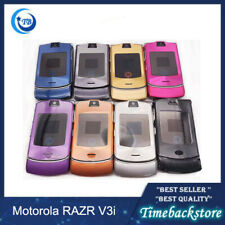 Refurbished Original Motorola Razr V3i Gsm Quad Band Flip Unlocked Used Phone