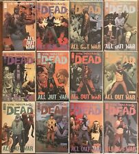 "The Walking Dead #115-126 ""All Out War"" 1st Prints Image Comics"