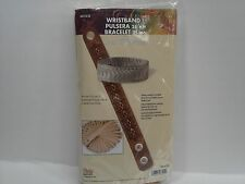 """Adjustable Wristband 1"""" (25mm) 25/pk Tandy Leather 44173-25 7-1/2"""" to 8-1/2"""" F/S"""