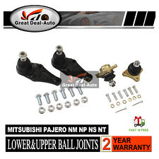 Suit Mitsubishi Pajero NM NP NS NT Upper+Lower Ball Joint Full Set 2000-2011