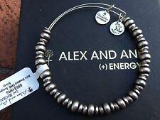 NWT ALEX and ANI RUSSIAN Silver NILE Metal BEADED Single Bangle BRACELET