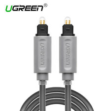 Ugreen 2M Optical toslink Digital Audio Cable Fiber Optic Cable for PS3 PS4 LCD