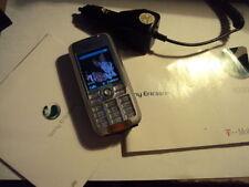 Retro Sony Ericsson K700I cellulare su ARANCIO + MANUALE + caricabatteria da auto + CD