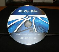 💽////ALPINE Multi-Channel SOLUTIONS⭐TEST & REFERENCE DVD for Car AUDIO 5.1/THX❌