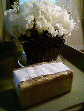 2 lb Neem Tea Tree Sulfur Bentonite Handmade loaf soap FREE SHIPPING All Natural