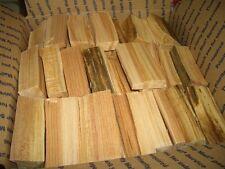 Sugar Maple Wood Chunks for Smoking Grilling 14-20 lbs box Free Ship No Bark!