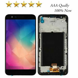For LG K10 2017 M250 X400 MP260 M257 M255  LCD Screen Digitizer Frame Replacemen