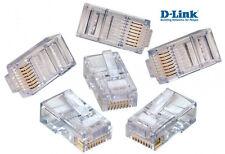 Dlink RJ45 Modular UTP Connectors - 200 Pcs