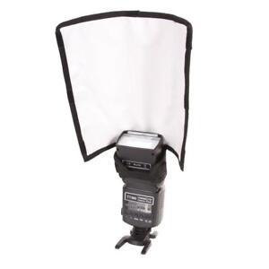 Black Foldable Flash Reflector Snoot Diffuser Softbox for   SB800 SB700