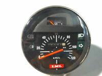 Vespa Speedometer Tachometer Schwarz Bis 120Km Vespa Px Lusso 80-200