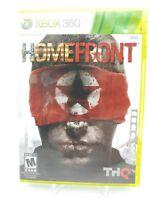 Microsoft Xbox 360 | Homefront | Complete In Box CIB. Manual Case and Game