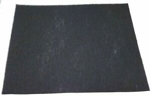 CARBON FILTER PAD CHARCOAL SHEET CAN CUT FOR COOKER HOOD AIR PURIFIERS